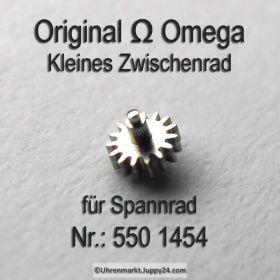 Omega Kleines Zwischenrad für Sperrad Part Nr. Omega 550 1454 Cal. 550 551 552 560 561 562 563 564 565 750 751 752