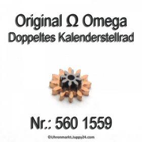 Omega 560-1559 Doppeltes Kalenderstellrad Omega 560 1559 Cal. 560 561 562 563 564 565 750 751 752