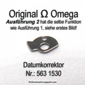 Omega 563-1530 Datumkorrektor für Datum Schnellverstellung, Omega 563 1530 Cal. 563 564 565 750 751 752