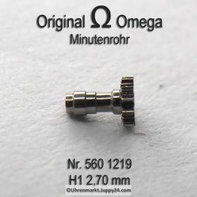 Omega Minutenrohr 560-1219 Omega 560 1219 H1 Höhe 2,70mm Cal. 560 561 562 563 564 565 610 611 613