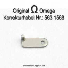 Omega 563-1568 Korrekturhebel für Datum Schnellverstellung, Omega 563 1568 Cal. 563 564 565 750 751 752