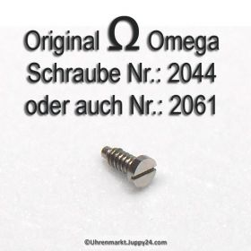 Omega Schraube 2044 Part Nr. Omega 2044 oder auch Omega Schraube 2061