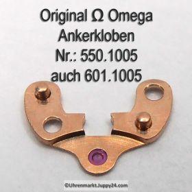 Omega Ankerkloben Omega 550-1005 auch Omega 600-1005 Omega 601-1005 Cal. 550, 551 552, 560 561 562 563 564 565 600 bis 613 und 750 751 752