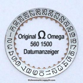 Omega Datumanzeiger (Datumsscheibe - Datumsring) Part Nr. Omega 560-1500 Cal. 560 561 562 563 564 565 610 611 613