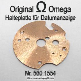 Omega 560-1554 Halteplatte für Datumanzeiger Omega 560 1554 Cal. 560 561 562 610 611