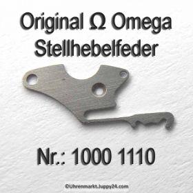 Omega Stellhebelfeder Omega 1000-1110 Cal.: 1000 1001 1002