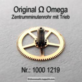 Omega Zentrumminutenrohr 1000-1219 Omega 1000 1219 Omega Zentrum Minutenrohr mit Trieb Cal. 1000 1001 1002