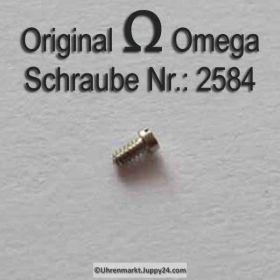 Omega Schraube 2584 Part Nr. Omega 2584