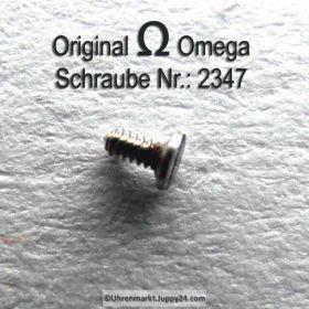 Omega Schraube, Omega Zifferblattschraube 2347 Part Nr. Omega 2347