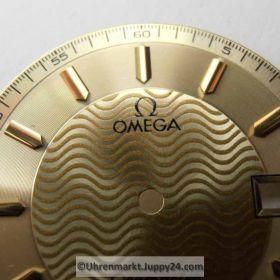 Nr7 Omega Seamaster 120 m Gold Zifferblatt (Dial) mit Zeigern (with Hands) NEU. Kostenloser Versand!