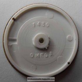 Nr10 Omega Seamaster Zifferblatt (Dial) mit Zeiger (with Hands) NOS. Kostenloser Versand! FREE SHIPPING!