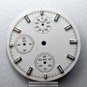 ETA Chronograph Zifferblatt Lagerware in neuwertigen Zustand. Nr.2