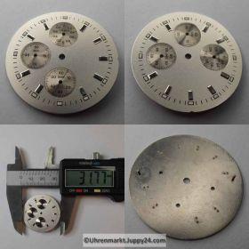ETA Chronograph Zifferblatt Lagerware in neuwertigen Zustand. Nr.3