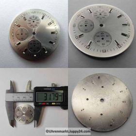 ETA Chronograph Zifferblatt Lagerware in neuwertigen Zustand. Nr.4
