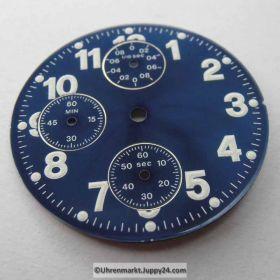 ETA Chronograph Zifferblatt Lagerware in neuwertigen Zustand. Nr.5