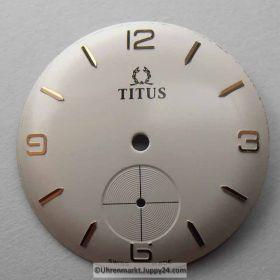 Titus Zifferblatt mit externer Sekunde für Herrenuhr, NEU aus Lagerbestand Nr2