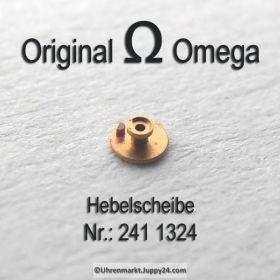 Omega Hebelscheibe mit Hebelstein Omega 241-1324 Cal 241 242 243 244