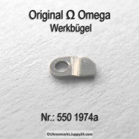 Omega 550-1974 Werkbügel, Werkbefestigungsbügel Omega 550 1974a