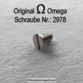 Omega Schraube 2978 Part Nr. Omega 2978 ✓ noch lieferbar!