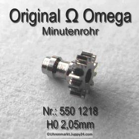 Omega Minutenrohr 550-1218 Omega 550-1218 H0 Höhe 2,05 mm Cal. 550 551 552 600 601 602