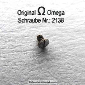 Omega Schraube 2138 Part Nr. Omega 2138