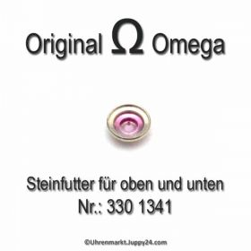 Omega 330-1341 Steinfutter für oben und unten Omega 330 1341 Cal. 265 bis 285 und 330 bis 355 und 480 481 482 550 bis 565 und 600 er Serie
