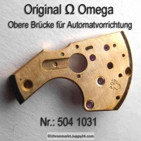 Omega Obere Brücke für Automatvorrichtung Omega 504-1031 Cal. 504 SIGNIERT