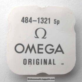 Omega 484-1321 Unruhwelle. Omega 484 1321 Cal. 484