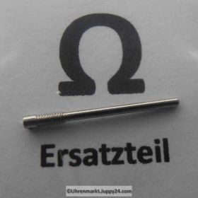 Omega Armband Schraube, Edelstahl, Länge 18 mm Part Nr. Omega 123ST2550