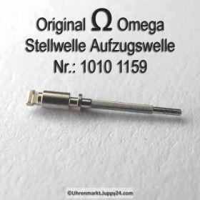 Omega Aufzugswelle Stellwelle männlich Omega 1010-1159 Cal. 1010 1011 1012 1020 1021 1022 1030 1035