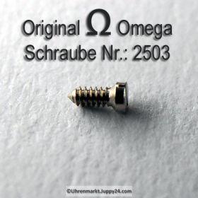 Omega 2503 Zifferblattschraube, Omega Schraube 2503