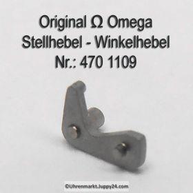 Omega Stellhebel Omega 470-1109 Omega Winkelhebel Cal. 470 471 550 551 552 560 561 562