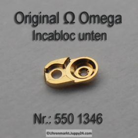 Omega 550-1346 Incabloc unten, Omega Incabloc 550 1346 Cal. 550 551 552 560 561 562 600 601 610 611