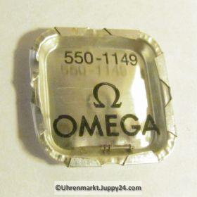 Omega  Aufzugswelle Stellwelle Omega 550-1160 Omega 550-1149 Cal. 550 551 552 560 561 562