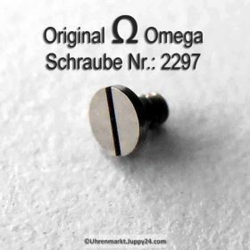 Omega Schraube 2297 Part Nr. Omega 2297