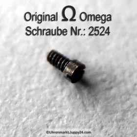 Omega Zifferblattschraube 2524 Part Nr. Omega 2524
