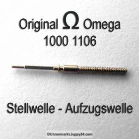 Omega Aufzugswelle Stellwelle Omega 1000-1106 Cal. 1000 1001 1002