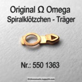 Omega 550-1363, Omega Spiralklötzchenträger, Omega 550 1363