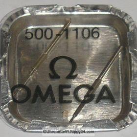 Omega Aufzugswelle Stellwelle Omega 500-1106 Cal. 490 491 500 501 502 503 504 505