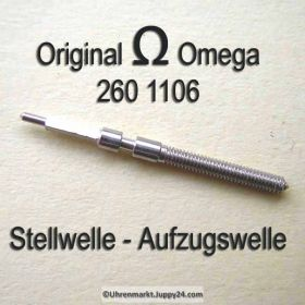 Omega Aufzugswelle Stellwelle Omega 260-1106 Cal. 30 30T1 30T2 260 261 262 265 266 267 268 269 280 281 283 284 285 286