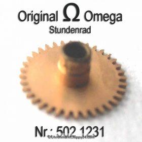 Omega Stundenrad  Omega 502-1231 Höhe 1,94 mm Omega 502 1231 Cal. 502 503  504