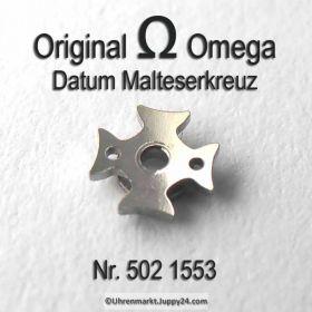 Omega 502-1553 Datum Malteserkreuz, Omega 502 1553 Cal. 502 503 504