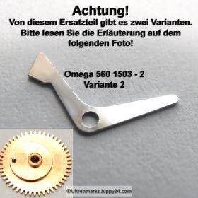 Omega 560-1503 Omega Datumssperre (Sperrhebel) Omega 560 1503 Variante 2, Cal. 560 561 562 610 611