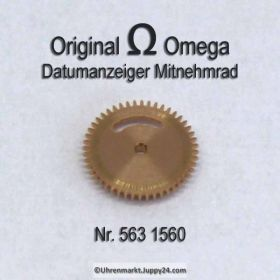 Omega 563-1560 Datumanzeiger Mitnehmrad Omega 563 1560 (563 1564) Cal. 563 564 565 750 751 752