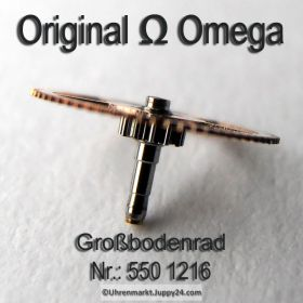 Omega Grossbodenrad Omega 550-1216 Cal. 550 551 552 560 561 562 563 564 565 600 601 602 610 611 613 750 751 752
