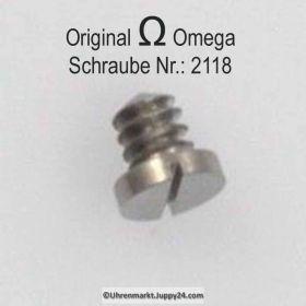 Omega Schraube 2118 Part Nr. Omega 2118