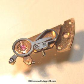Omega Unruhkloben Omega 550-1030 komplett mit Incabloc und Schwanenhals Cal. 550 551 552 560 561 562