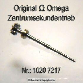 Omega 1020-7217 Zentrumsekundentrieb H1 mit Ring Omega 1020 7217 Cal. 1020 1021 1022