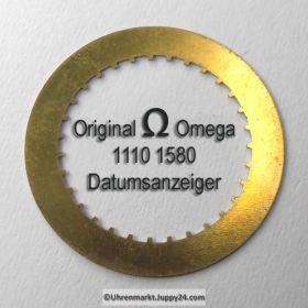 Omega 1110 1580 Omega Datumanzeiger Neuware (Datumsscheibe - Datumsring) Cal. 1110