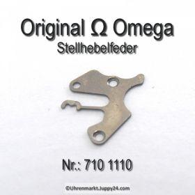 Omega Stellhebelfeder Omega 710-1110 Omega Winkelhebelfeder Cal. 710 711 712 715